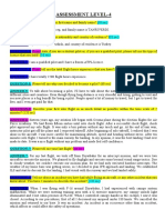 Assessment Level-4 Soru Bankasi