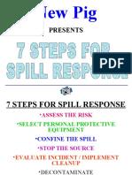 Spill Response 7 Steps
