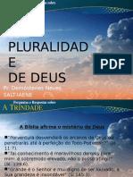1 a Pluralidade de Deus