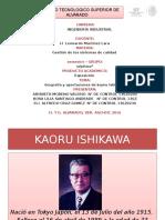 aportacion de kaoru ishikawa a la calidad