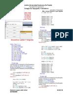 Area y Perimetro Del Triangulo Rectangulo Utilizando Funciones Trigonometricas Para Encontrar Lados Y Angulos de Jahir Uriel Zamora Lopez