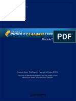 Product Launch Formula 3 Module 3