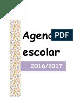 Agenda Escolar 2016 2017 Mensal