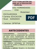 Diagnóstico y Evaluación Del Aprendizaje de La Educación 3a Clase. (1)