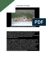 Contaminación en Arequipa