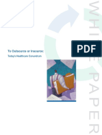 To Outsource or Insource - White Paper