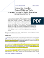 2013 Using Action Learning & Critical Thinking Tools To Makes Change in Higher Educationn.pdf