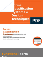 Group 3 - Forms Classification Systems & Design Techniques