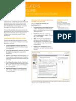 Thomson Reuters Web Disclosure Fact Sheet