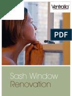 Ventrolla Sash Window Domestic Brochure