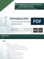 T1 - Introducción, Estructuras de Datos y Sus Abstracciones