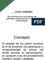 El Juicio Sumario