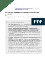 Avizarea Documentatilor Cu Caracter Tehnic de Informare Si Instruire
