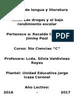 Proyecto de Lengua y Literatur1