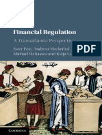 Financial Regulation a Transatlantic Perspective