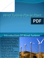 Wind Turbine Power Plant Presentation