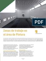 Zonas de Trabajo en El Área de Pintura - Mapfre