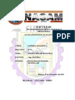 Informe de Laboratorio Nº01 Analitica