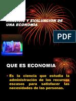 Analisis y Evaluacion de Una Economia