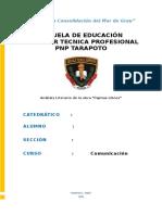 Analisis Literario de La Obra Pajinas Libres