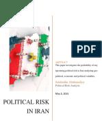 Political Risk in Iran.pdf
