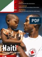 Red Cross, Red Crescent Magazine. No. 1, 2010