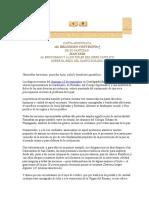 Carta Apostólica Il Religioso Convegno de s.s. Juan Xxiii