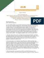 Carta Encíclica Fulgens Corona de s.s. Pío Xii Proclamar El Año Mariano en Conmemoración Del Centenario de La Inmaculada Concepción