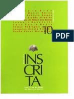 CFESS. Revista Inscrita. No. 10