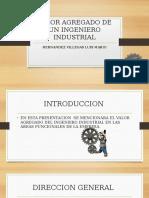 Valor Agregado de Un Ing. Industrial- HVLM