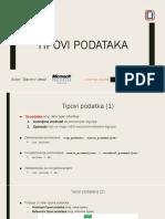 02. Tipovi podataka (data types)