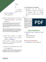 Company Law Share Capital 2