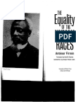 Firmin, Antenor. 'the Equality of the Human Races'