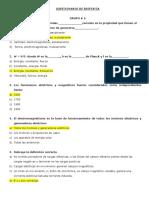 Cuestionario de Biofisica 1