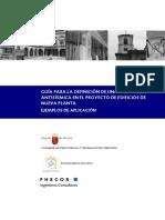 Texto Completo 1 Guía para la definición de una estrategia antisísmica en el proyecto de edificios de nueva planta. Ejemplos de aplicación.pdf