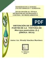 Sánchez Martínez, Wendy.(2015) Obtención de Un Gel A