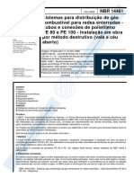 NBR 14461 - 2000 - Sistemas Para Distribuição de Gás Combust