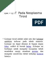 GA – ETT  Pada Neoplasma Tiroid.pptx