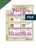 Voto Luego No Existo
