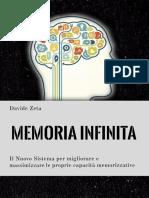 (PDF Lezione 1) Memoria Infinita - Davide Zeta