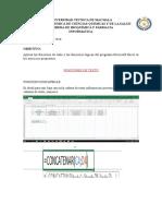 Funciones de Texto Excel