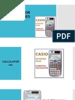 Calculator Techniques