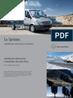 Caratteristiche Sprinter Autotelaio Mercedes