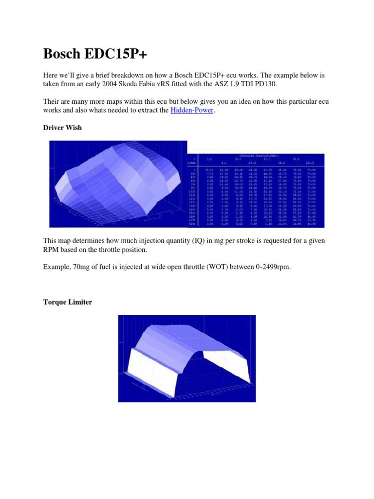 Bosch EDC15P pdf | Fuel Injection | Diesel Engine