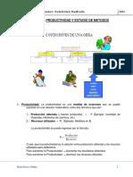 2 Apunte PRODUCTIVIDAD y Planificacion 2013