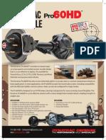 Dynatrac Defense Info Sheet Pro60HD