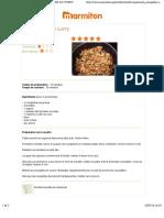 Une Recette de Cuisine Marmiton - COURGETTES AU CURRY