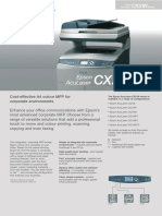 Epson Laser Color Aculaser CX21NF