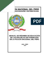 Manual Regimen Educacion de Las EEFF Diredud 2010