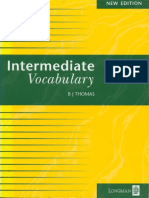 b.j. Thomas - Intermediate Vocabulary